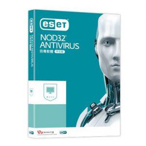 ESET NOD32 Antivirus 防毒軟體PC版3年